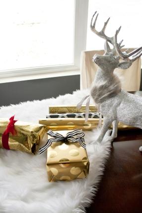 Holiday Silver reindeer